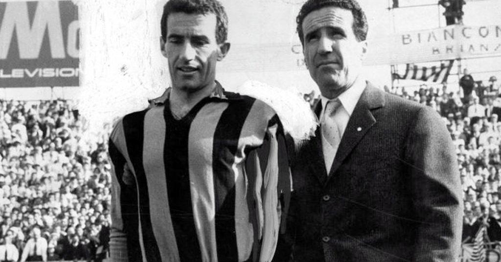 Helenio Herrera e Armando Picchi