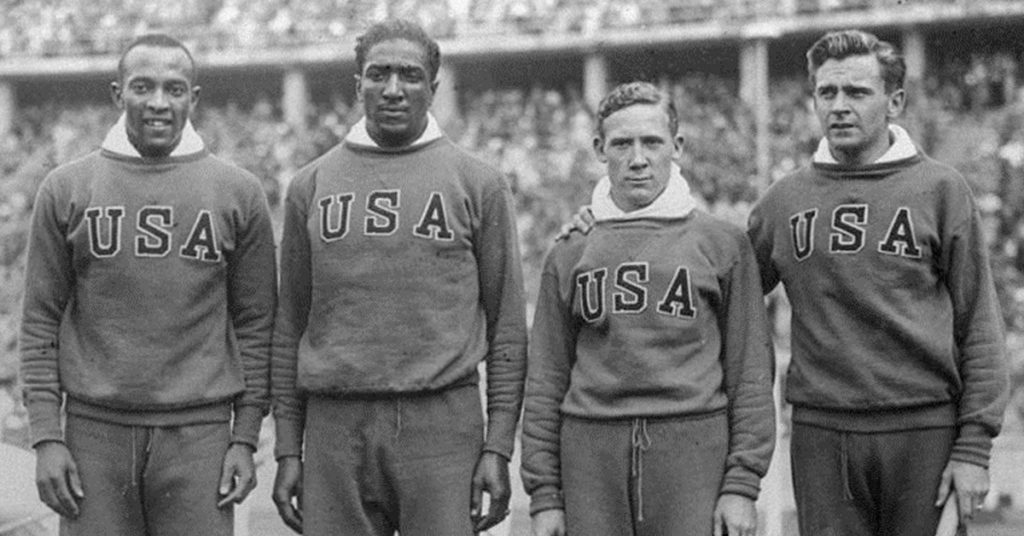 Jesse Owens - staffetta usa a berlino 36