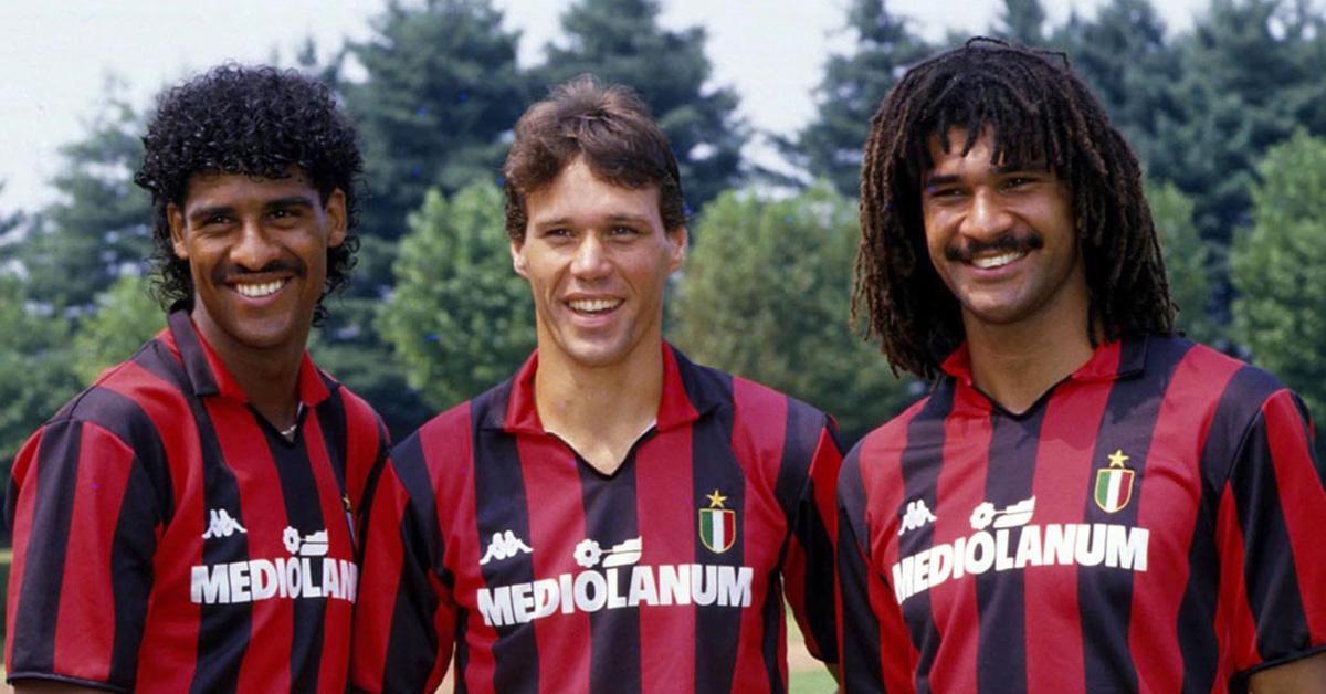 Rijkaard, Gullit e Van Basten il Milan che parlò olandese