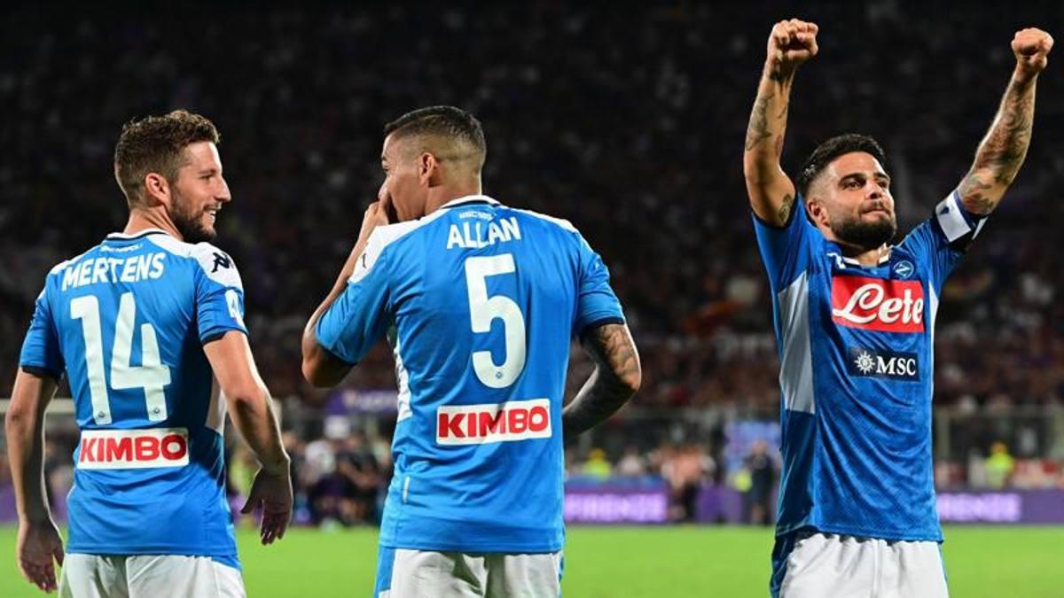 Napoli: i messaggi dei calciatori