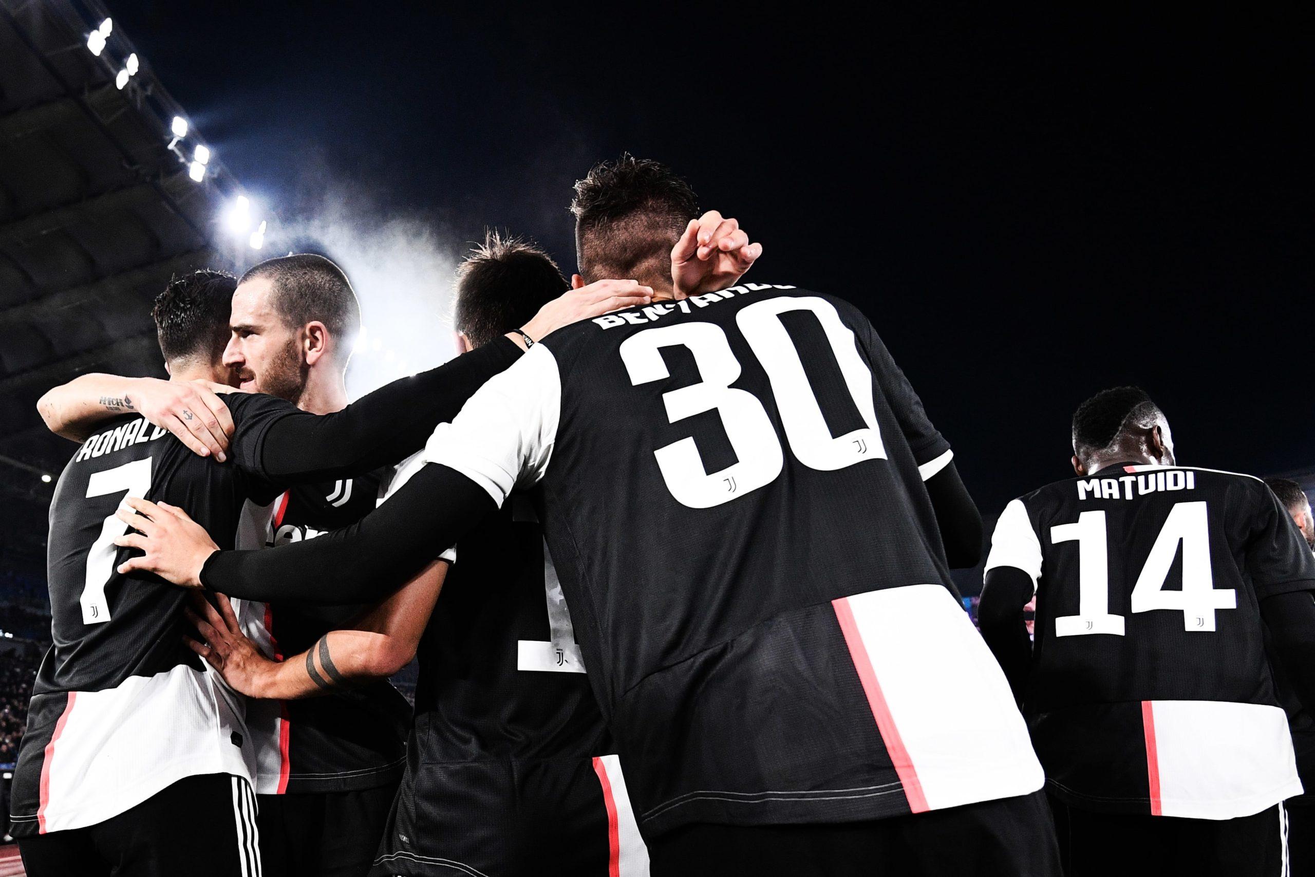 Napoli-Juventus: la formazione bianconera