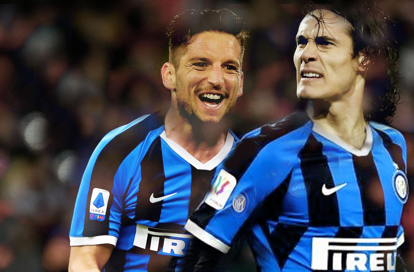 Mertens e Cavani: l'Inter sogna!