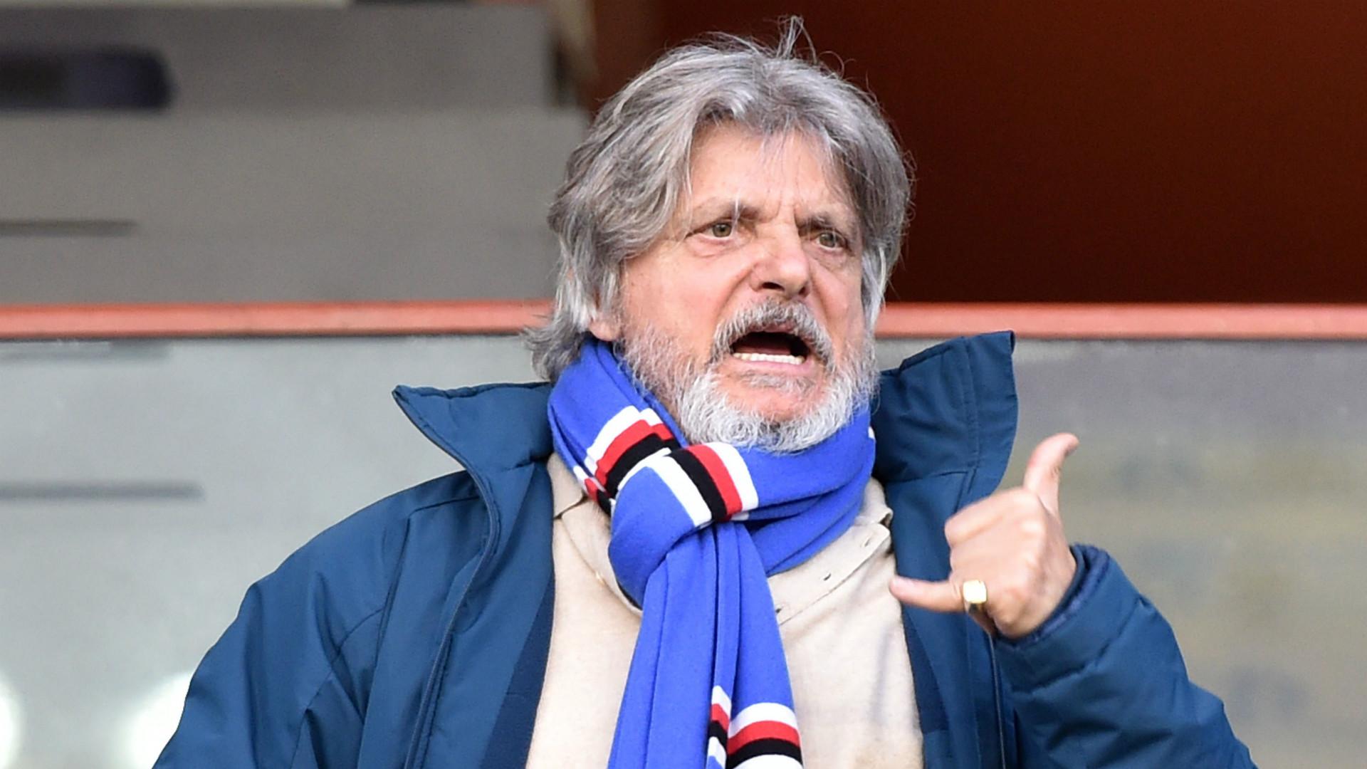 Roma, tifoso prende in giro Ferrero: la reazione