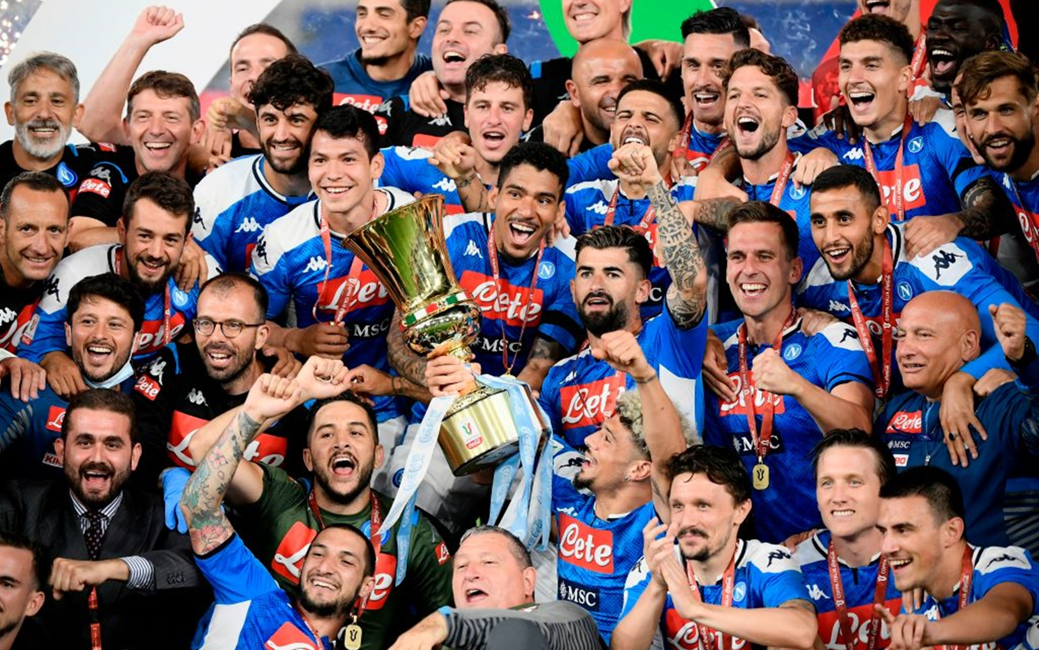 Napoli: i protagonisti della Coppa Italia e il futuro azzurro