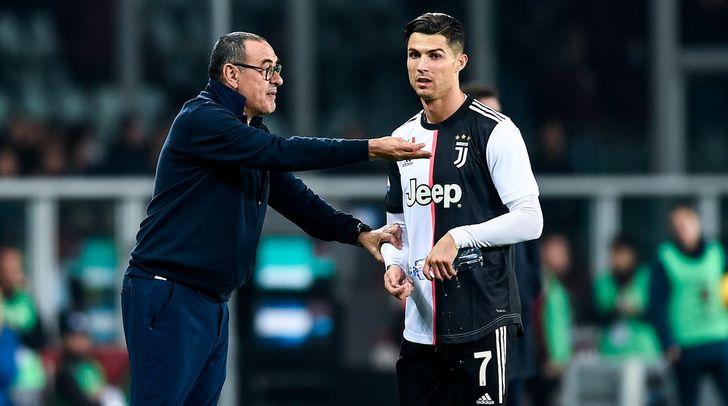 Sarri-Ronaldo: separati in casa?