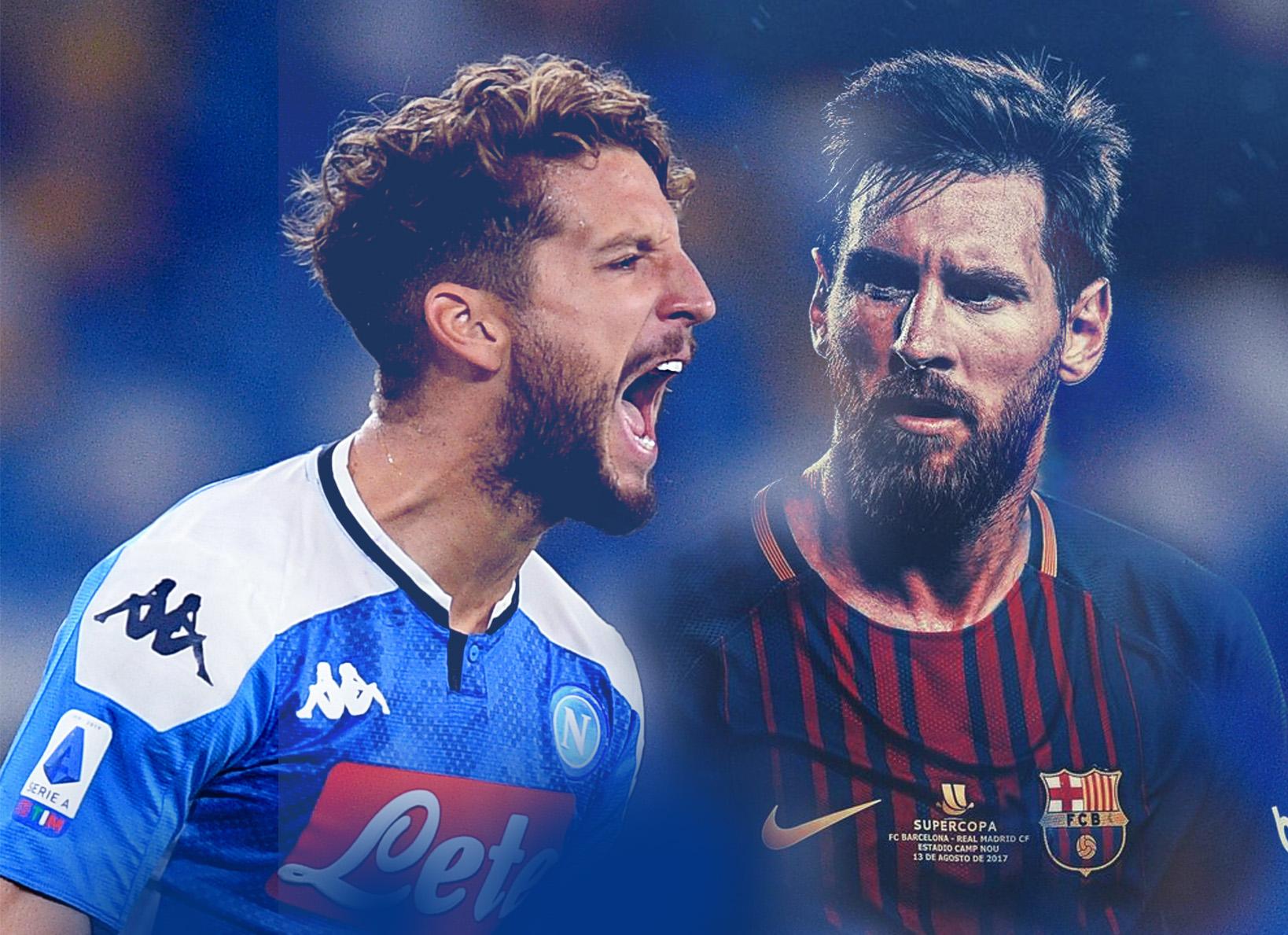 Barcellona-Napoli: la supersfida!