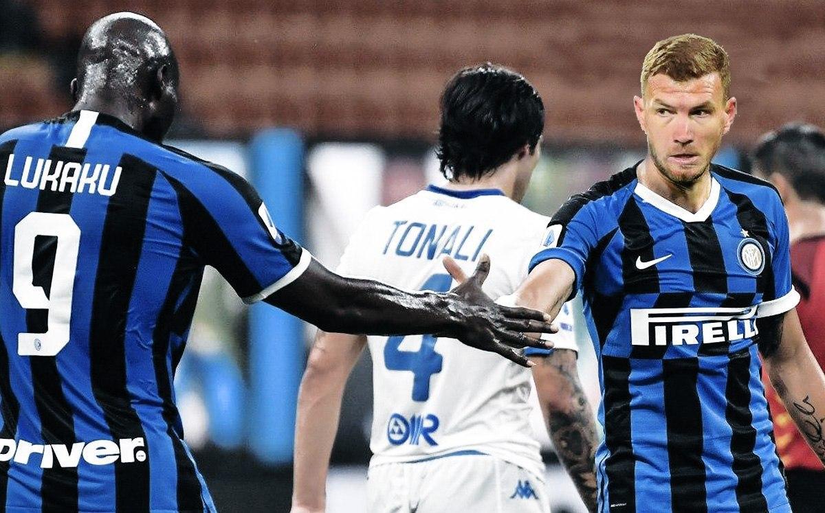 Roma, nuovi segnali per l'addio di Dzeko. L'Inter c'è