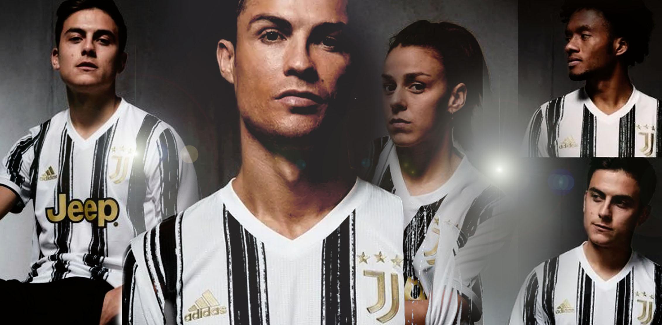 Juventus: ecco la nuova maglia per la stagione 2020-2021