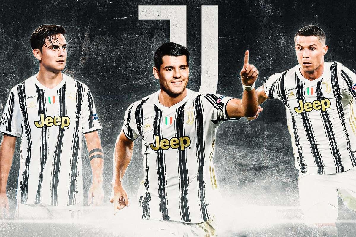 L'attacco della Juve è completo. Chi gioca?