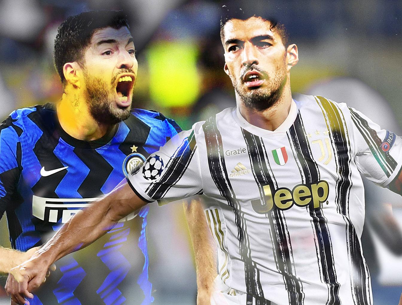 Suarez: Juventus e Inter in campo per il pistolero