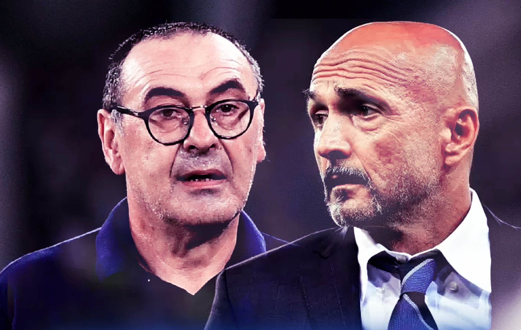 Sarri e Spalletti: una panchina per due