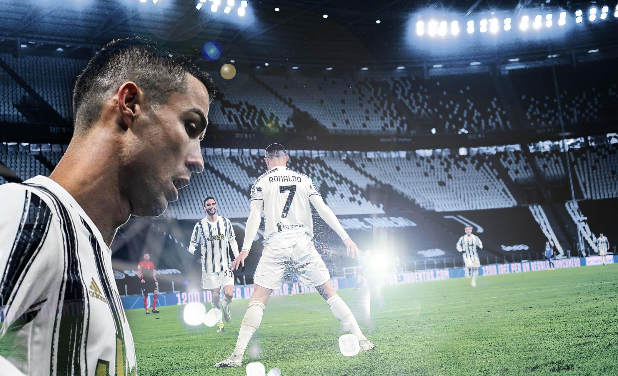 Juventus a San Siro. Ronaldo carica la Juve!