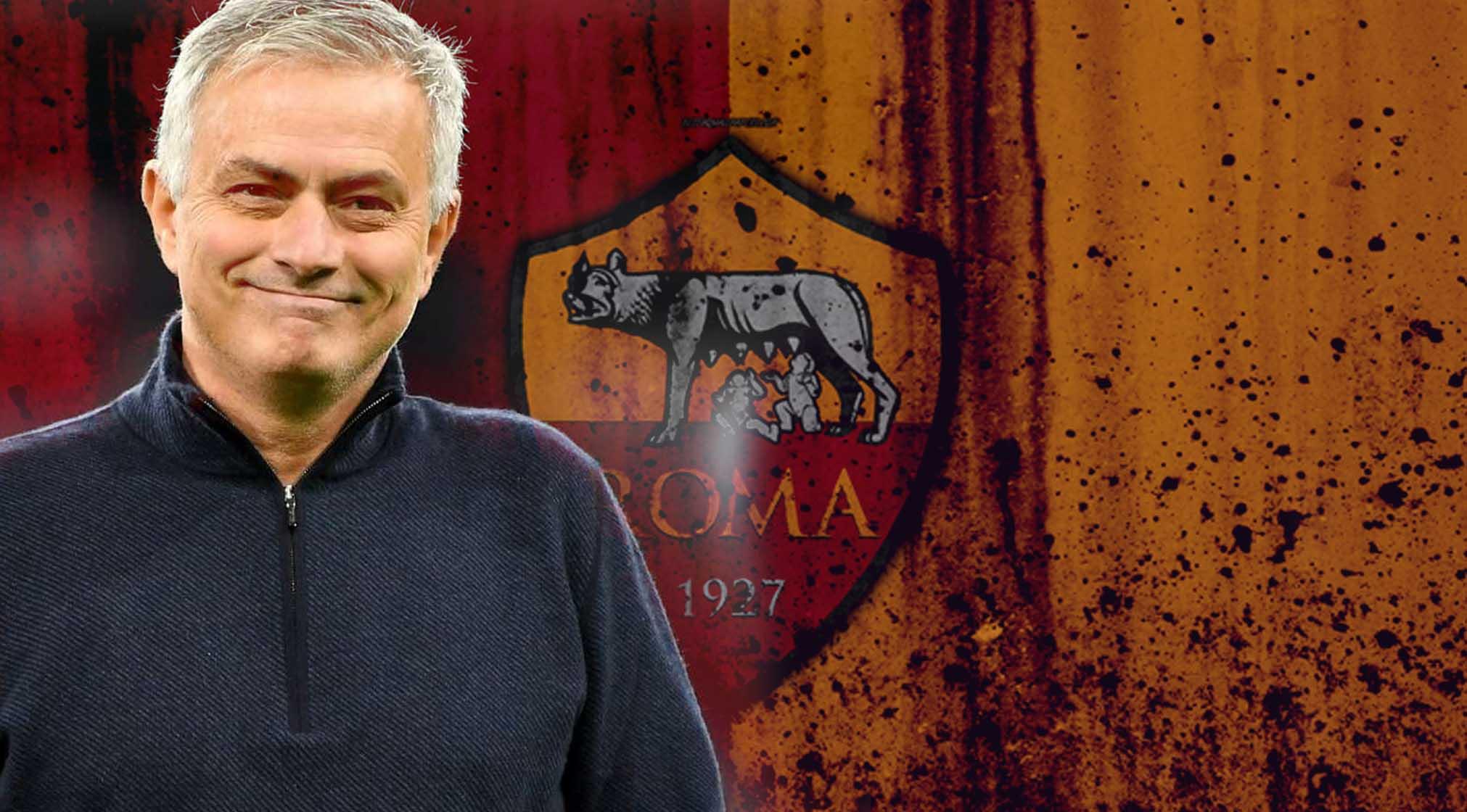 Mourinho è il nuovo allenatore della Roma